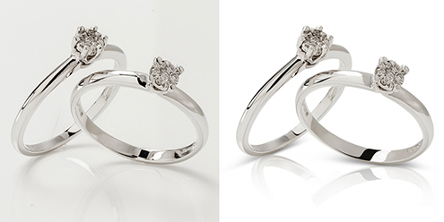 High-End Jewelry Retouching